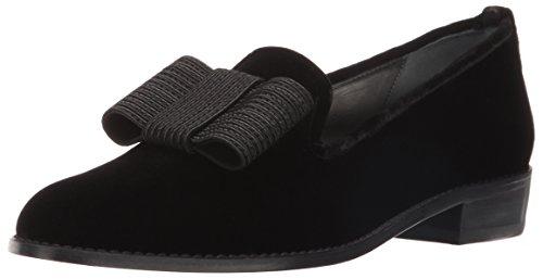 (Stuart Weitzman Women's Atabow Tuxedo Loafer, Black, 6.5 M US)