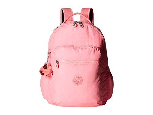 Designer Heart Bag - Kipling Seoul Go Laptop, Padded, Adjustable Backpack Straps, Zip Closure, Conversation Heart Tonal