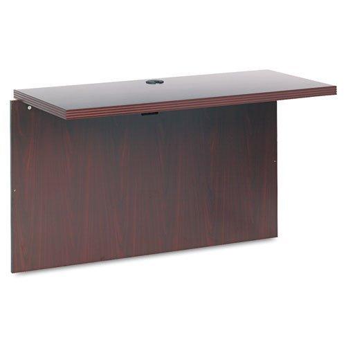 HON 11570AXNN Valido 11500 Series 47 by 24 by 29-1/2-Inch Bridge for Peninsula/Desk/Credenza, Mahogany Top Peninsula Desk