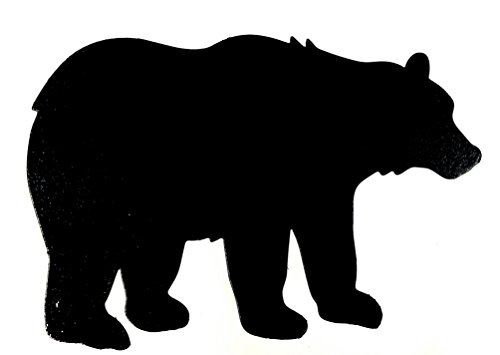 - Trailer Hitch Cover - Large Bear (Black)