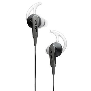 Bose SoundSport in-ear headphones – Charcoal