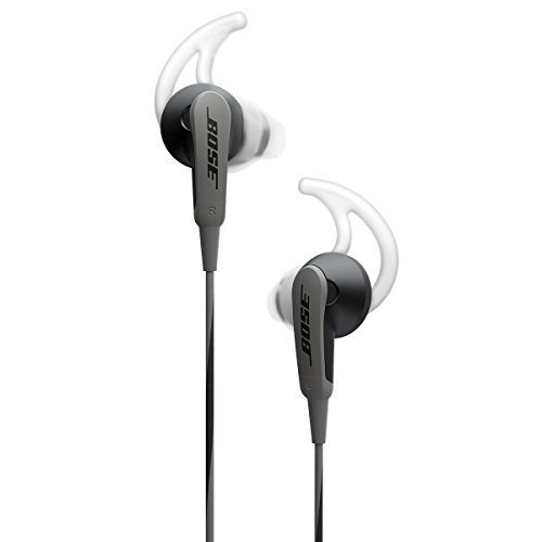 Bose SoundSport In-Ear Headphones (Charcoal Black)