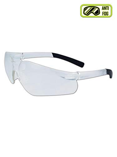 (Magid Glove & Safety Y19CFAFC-AMZN Gemstone Myst Flex Y19 Protective Eyewear, Polycarbonate, Standard, Clear)