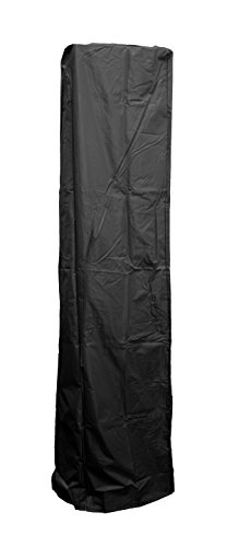 "AZ Patio Heater Heavy Duty Waterproof Square Glass Tube Heater Cover - 92"" - Black"