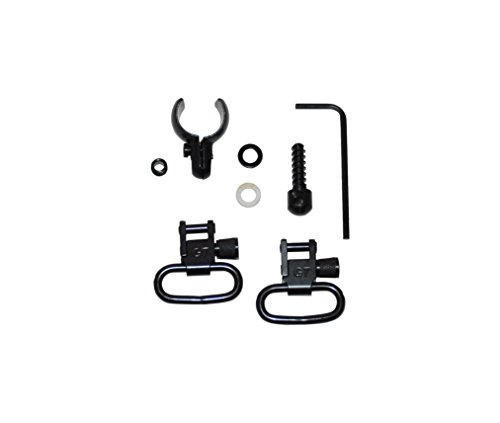 GrovTec Swivel Set, Wood Screws, Fits Some Lever-Action & Tube-Mag Rifles & Carbines, 1 Loops, Black Oxide