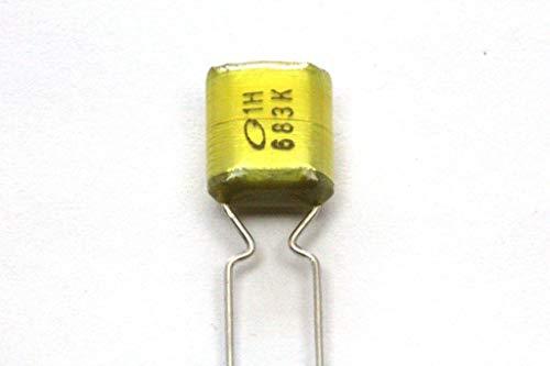 Tone Capacitor Control - 068uF 50V ± 10% Polyester Film Capacitor for Guitar Tone Control/Pot Upgrade