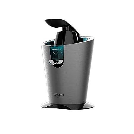 Cecotec Exprimidor Eléctrico Zitrus 160 Vita Inox. Filtro de Acero Inoxidable y 2 Conos Desmontables, Sistema de Extracción Continua, 160 W de ...