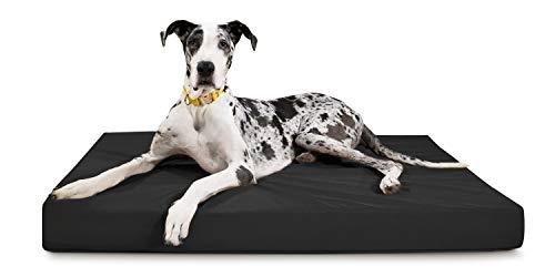K9 Ballistics Tough Rectangle Orthopedic XL Extra Large Dog Bed - Washable, Durable and Waterproof...