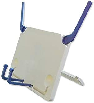 Fold clásico soporte de libro plana, sujetalibros soporte