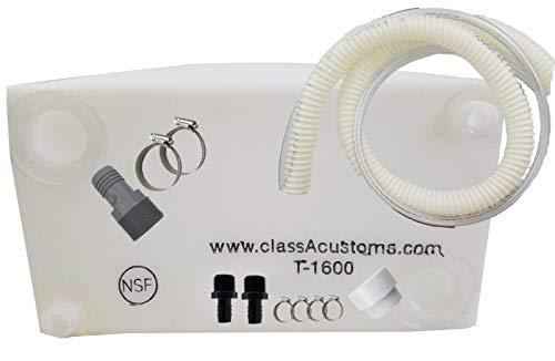 (Class A Customs 16 Gallon Water Tank & Plumbing Kit T-1600-BPK)