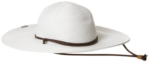 Columbia Women's Global Adventure Packable Hat, White, Small/Medium