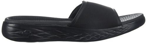 Uomo Regal Sandali Plateau Goo On 600 con The Skechers Black Nero FRqw8TZIn