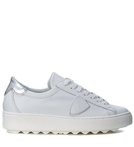 Philippe Model Women's Madeleine White Leather Sneaker White discount 2014 new arrival new cheap price 8nXyeGeO5J