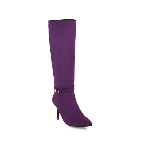 HAOLIEQUAN Frauen Stiefel Plattform Fashion Damen Schuhe Damen Stiefel Thin High High Thin Heel Herde Frauen Schuhe Größe 34-43 740e56
