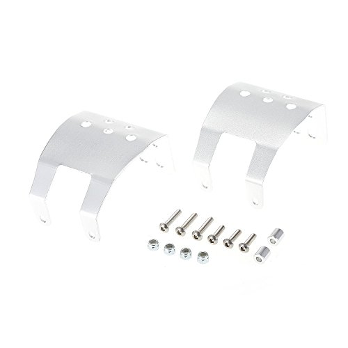 Aluminum Skid Plate Axle Protector for Axial SCX10 1/10 RC Rock Crawler Truck Car - Quarkscm