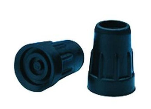 Cane Tips Black Qty 12/3/4 in.