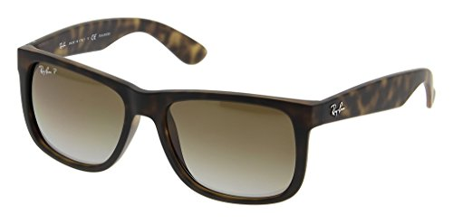 Ray Ban RB4165F 865/T5 55 Havana Rubber/Polarized Brown