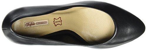 Toe Black Closed 111714i Women's Vegetal Black Buffalo 01 Heels wqTHgv6