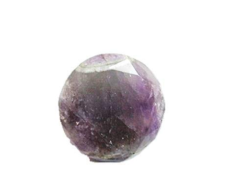 Jet Top Grade Amethyst Crystal Pranic Diamond Gemstone Dis-integrator Free Booklet jet international crystal therapy IMAGE IS JUST A REFERENCE. ()