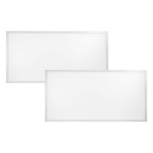 2-pack, 2ft. x 4ft. LuemGen LED Dimmable Flat Panel - Title 24 Compliant - 50W, 5500 Lumens, 4000K Soft White by Lumegen