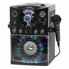 THE Singing Machine Sml-387 Cdg Karaoke System with Disco Lights (Gem Sound Cd Player)