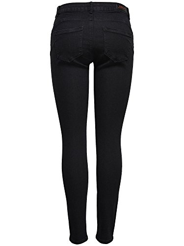 Jeans Up Push Only Donna Nero 61d6Px