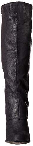 High Fergalicious Wide Calf Tender Boot Knee Black Women's qTqpwX