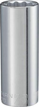CMMT44447 1//2-Inch Drive 12-Point 21mm CRAFTSMAN Deep Socket Metric