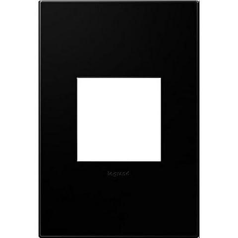 Legrand Adorne Black Ink 1-Gang Wall Plate - Blank Filler Module