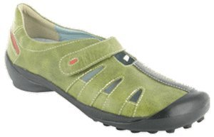 Wolky Rhea Lime Rustic Leather Size 36 EU ()