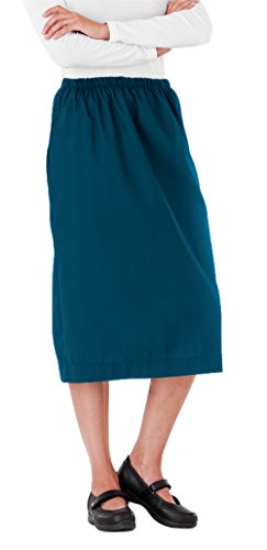 Scrub Skirt By White Swan Uniforms (Caribbean Blue, X-Large) by White Swan Brands