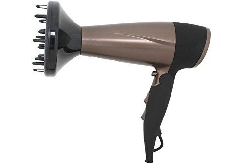 AFK Haartrockner HT-2200 Goldbraun Föhn Haarföhn mit Diffuso