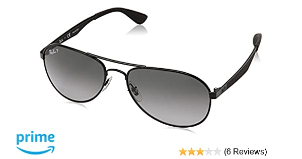 39eaa3a3a6 Amazon.com  Ray-Ban Men s Metal Man Sunglass Polarized Aviator ...