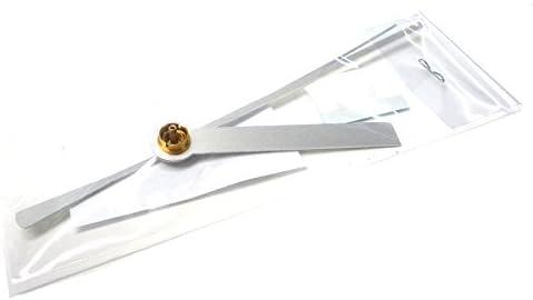 時計針 Q-5 白色棒三針