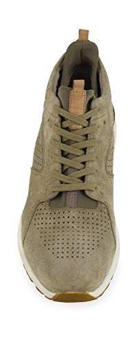 273 Mid Sneaker in E17 Café Black pelle Mpa700 Taupe 6qWZzF