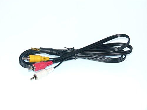 Panasonic OEM Audio Video AV Cable Adapter - NOT A Generic! HCV10, HC-V10, HCV10M, HC-V11M