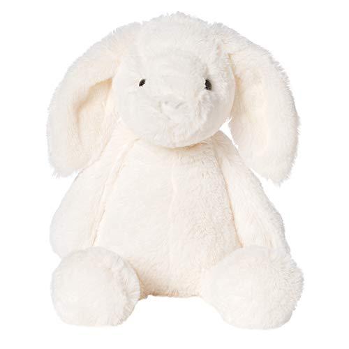 Manhattan Toy Lovelies Riley Rabbit Stuffed Animal, White, 12