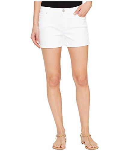 直面する国際残酷[ハドソン] Hudson レディース Asha Mid-Rise Cuffed Five-Pocket Shorts in White パンツ White 26 [並行輸入品]