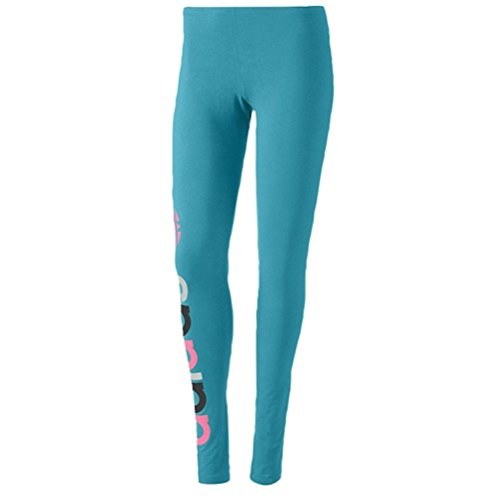 Adidas Womens TRF LEGGING Size Extra Large Teal