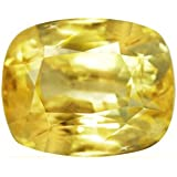 8.81 Carat Untreated Loose Yellow Sapphire Cushion Cut