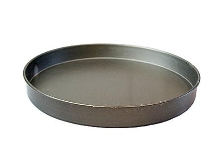 Round Pizza Pan Bandeja para horno, de profundidad cacerola de 13 ...