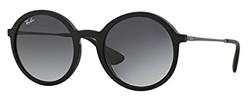 Ray-Ban Youngster RB 4222 Sunglasses Rubber Black / Grey Gradient 50mm & HDO Cleaning Carekit - Youngster Ray Ban Sunglasses
