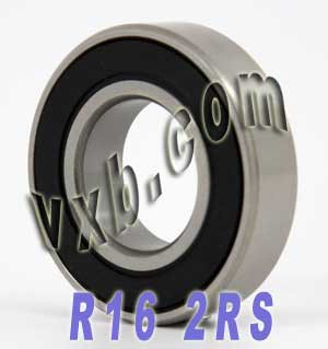 "R 16 RS 2RS Bearing 1/""x 2/""x 1//2/"" English Imperial VXB"