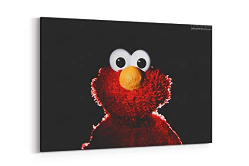 Muppet Sesame Street Elmo Hnk - Canvas Wall Art Gallery Wrapped 26