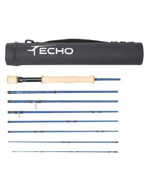 (Echo Trip Salt Fly Rod, 890-8 (9', 8wt, 8pc) )