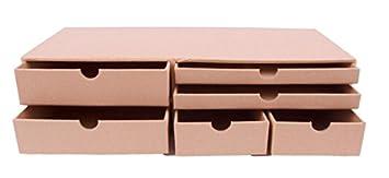 MP PD210 - Joyero de carton con 6 cajones