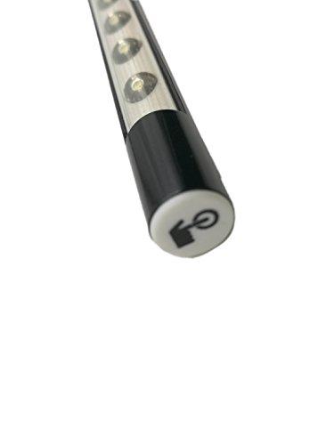 [해외]10 개의 LED 조명 및 유연한 구즈넥 (검정색 보라색)으로 된 USB 판독 램프. QiCheng 및 시작/USB Reading Lamp with 10 LED Lights and Flexible Gooseneck (