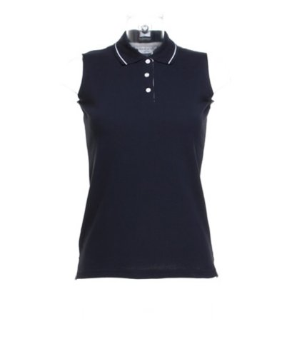 Gamegear Polo sans manches pour femme Proactive Chemise, Couleur :  bleu marine, taille :  14)