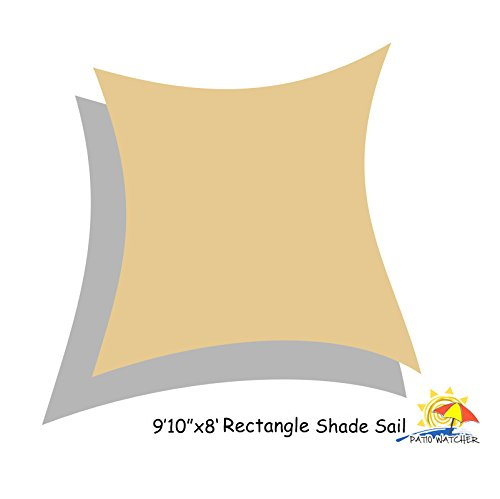 Patio Watcher Rectangle Shade 185gsm