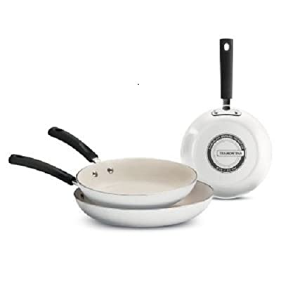 Tramontina Ceramic-Reinforced Nonstick Fry Pans, Set of 3 Made in the USA
